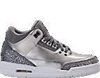 Girls' Grade School Air Jordan Retro 3 Premium Heiress Collection (3.5y - 9.5y) Basketball Shoes