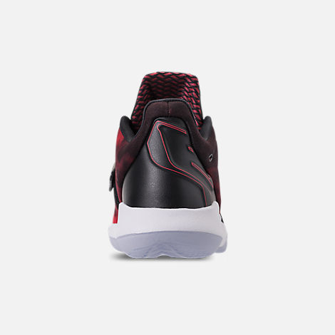Back view of Men's Air Jordan CP3.XI Basketball Shoes in University Red/Black