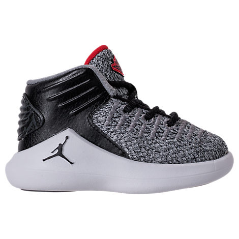 new style 3bc03 98b52 Boys' Toddler Air Jordan Xxxii Basketball Shoes, Black