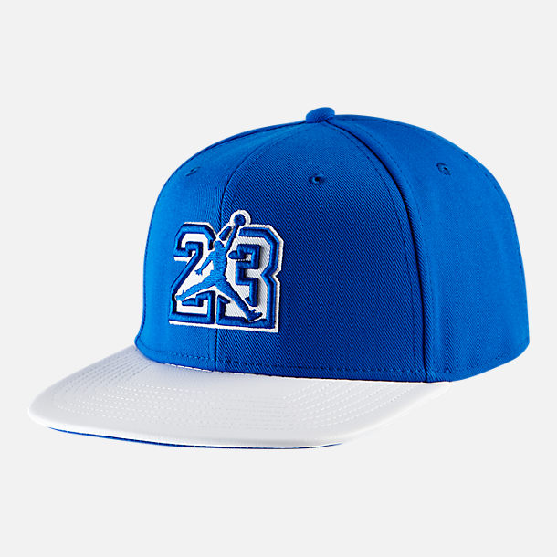 8238138530e ... official front view of air jordan pro he got game retro 13 snapback hat  in hyper