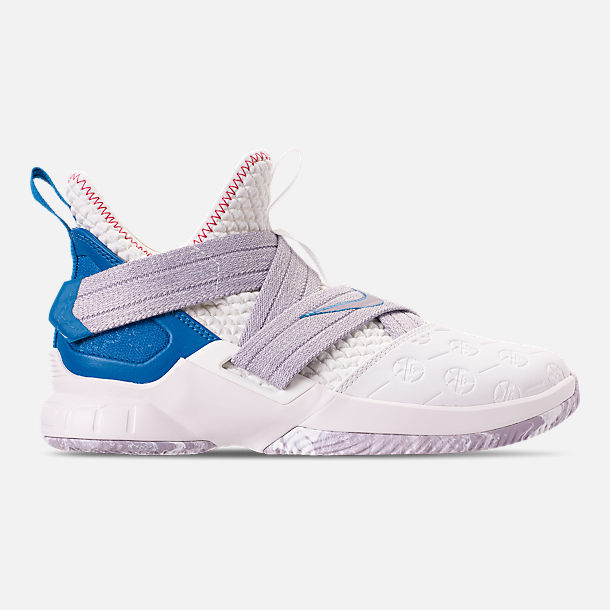 48d4976f88d9 Right view of Boys  Big Kids  Nike LeBron Soldier 12 Basketball Shoes in  Summit
