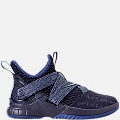 Boys' Grade School Nike LeBron Soldier 12 Basketball Shoes