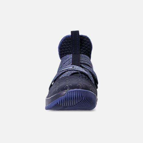 timeless design 1bda6 447ff Front view of Boys  Big Kids  Nike LeBron Soldier 12 Basketball Shoes in  Blackened