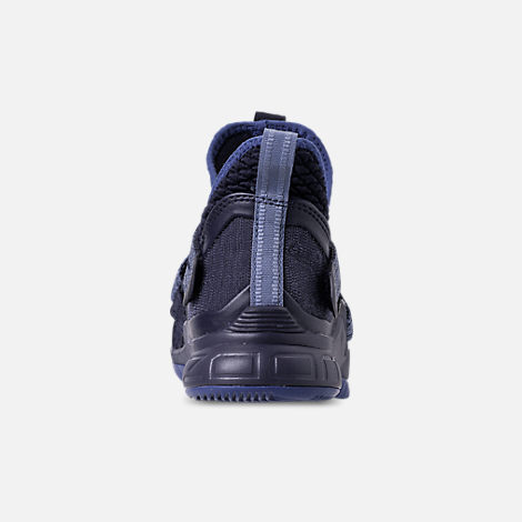 0c24385ed826f9 Back view of Boys  Big Kids  Nike LeBron Soldier 12 Basketball Shoes in  Blackened