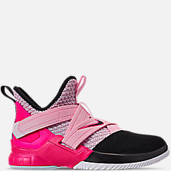 Boys' Big Kids' Nike LeBron Soldier 12 Basketball Shoes