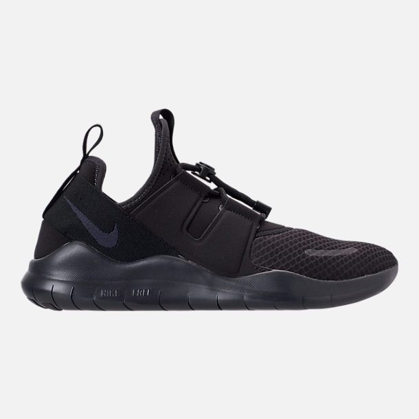 e12ff9fde624 Right view of Men s Nike Free RN Commuter 2018 Running Shoes in Black Oil  Grey
