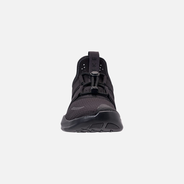 b7b0f81a7346a Front view of Men s Nike Free RN Commuter 2018 Running Shoes in Black Oil  Grey