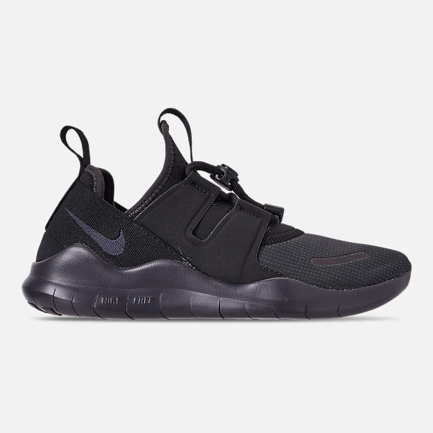 297e27f19ed Right view of Women s Nike Free RN Commuter 2018 Running Shoes in Black Oil  Grey