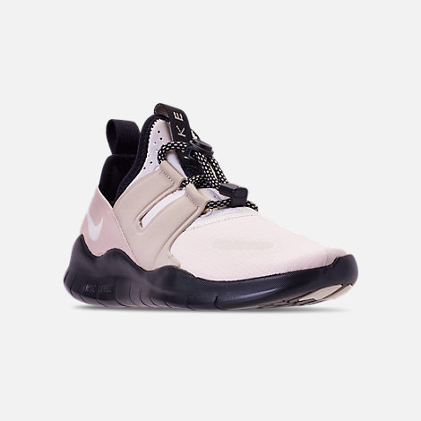 afe85abf531c7 Three Quarter view of Women s Nike Free RN Commuter 2018 Running Shoes in  Phantom String
