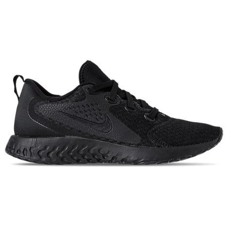 Nike Womens Legend React Running Shoes, Black