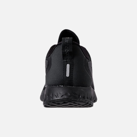 Back view of Women's Nike Legend React Running Shoes in Black/Black