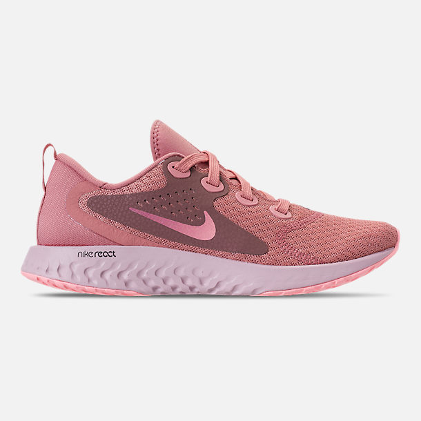 Right view of Women's Nike Legend React Running Shoes in Rust Pink/Pink Tint/Smokey Mauve