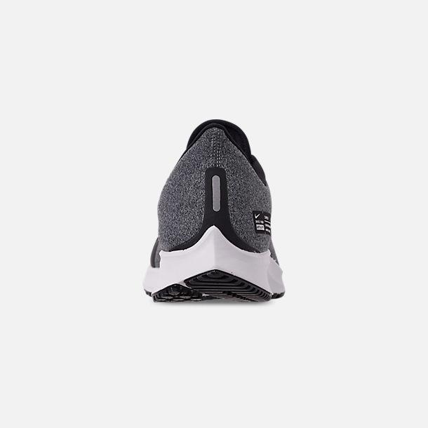 b07fa659c Back view of Men's Nike Air Zoom Pegasus 35 Shield Running Shoes in Black /Metallic