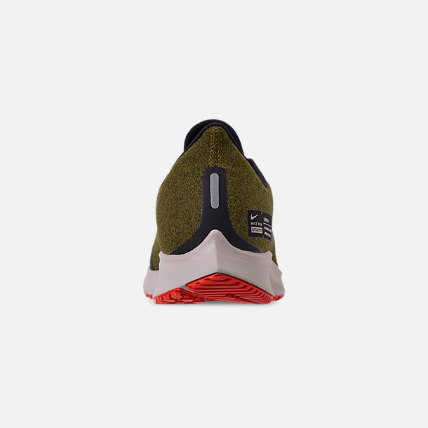81dfee6460eaa Back view of Men s Nike Air Zoom Pegasus 35 Shield Running Shoes in Olive  Flak