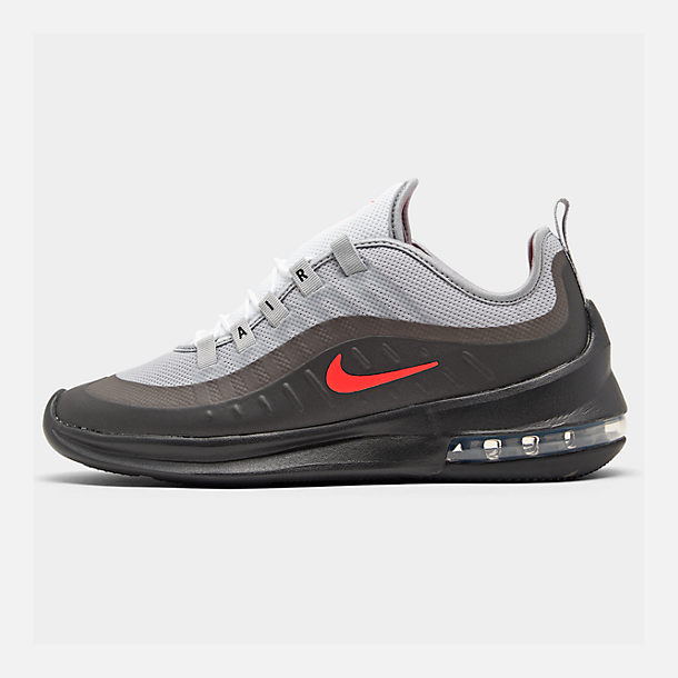 e92087e001fb Right view of Men s Nike Air Max Axis Casual Shoes in Wolf Grey Total  Crimson