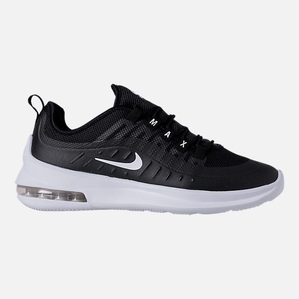Right view of Men's Nike Air Max Axis Casual Shoes in Black/White