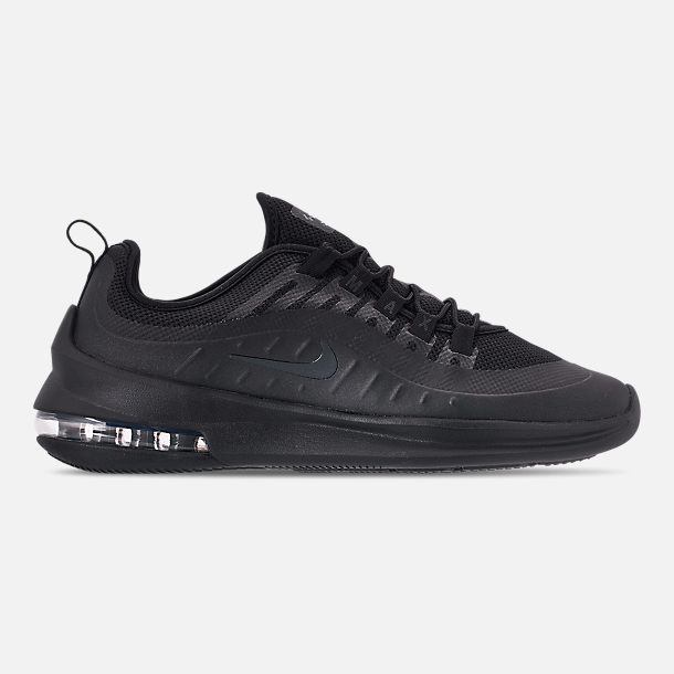 Right view of Men's Nike Air Max Axis Casual Shoes in Black/Black