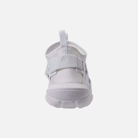 Back view of Men's Nike Vortak Casual Shoes in White/Black