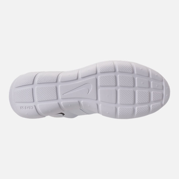 Bottom view of Men's Nike Vortak Casual Shoes in White/Black