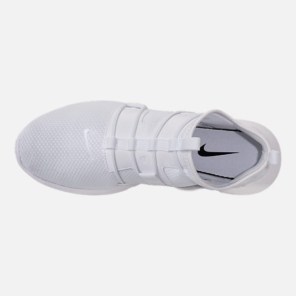 Top view of Men's Nike Vortak Casual Shoes in White/Black