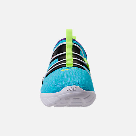 Front view of Men's Nike Vortak Casual Shoes in Lagoon Pulse/Volt Glow/Black
