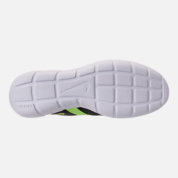 Bottom view of Men's Nike Vortak Casual Shoes in Lagoon Pulse/Volt Glow/Black
