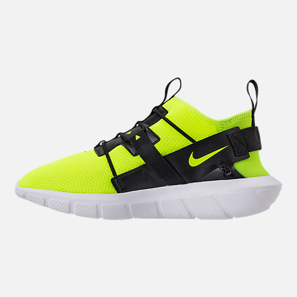Left view of Men's Nike Vortak Casual Shoes in Volt/Black