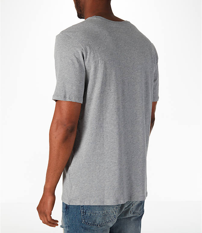 Back Left view of Men's Nike Sportswear Air Short-Sleeve T-Shirt in Dark Grey