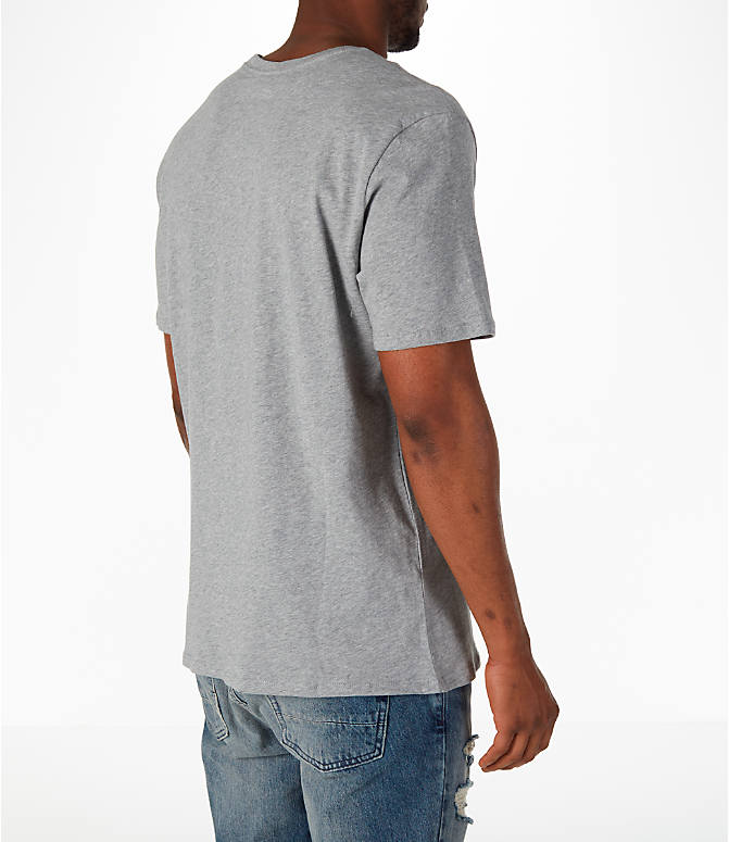 Back Right view of Men's Nike Sportswear Air Short-Sleeve T-Shirt in Dark Grey