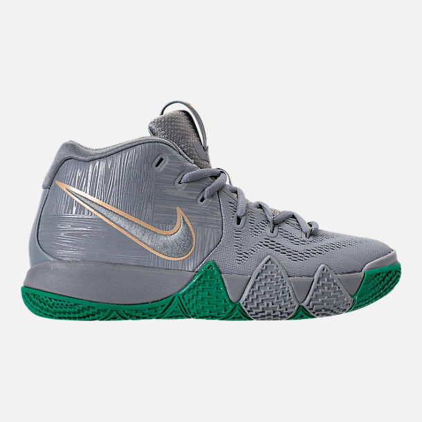 Right view of Boys' Grade School Nike Kyrie 4 Basketball Shoes in City Edition