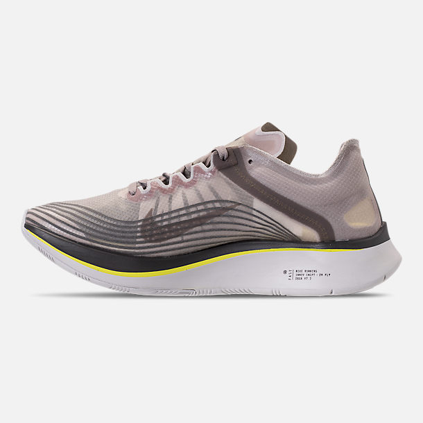 ae4052af7745 Left view of Unisex Nike Zoom Fly SP Running Shoes