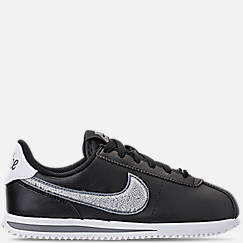 Boys' Big Kids' Nike Cortez Basic Leather SE Casual Shoes