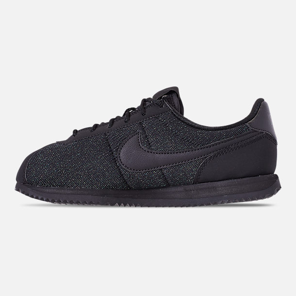 huge discount 87302 46fa0 Left view of Girls Big Kids Nike Cortez Basic Textile SE Casual Shoes in