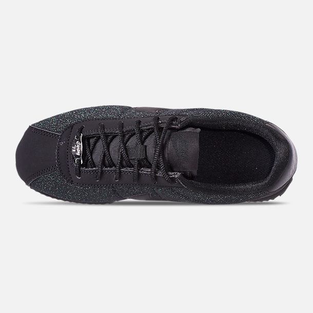 watch 257ee 5b1e9 Top view of Girls Big Kids Nike Cortez Basic Textile SE Casual Shoes in