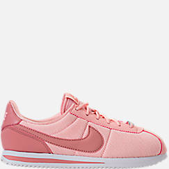 Girls' Grade School Nike Cortez Basic Textile SE Casual Shoes