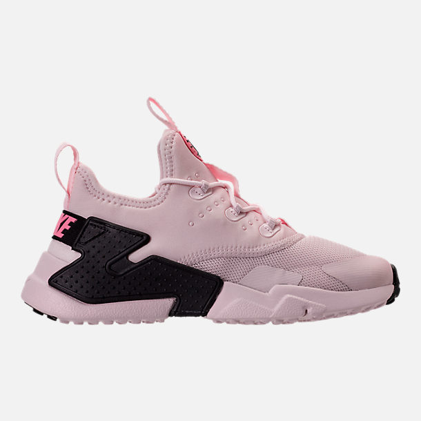 Right view of Girls' Preschool Nike Huarache Drift Casual Shoes in Barely Rose/Coral Chalk/White
