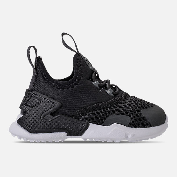 Right view of Boys' Toddler Nike Huarache Drift Casual Shoes in Black/Anthracite/White