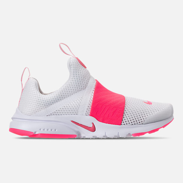 593e084f85c6 Right view of Girls  Big Kids  Nike Presto Extreme SE Casual Shoes in White