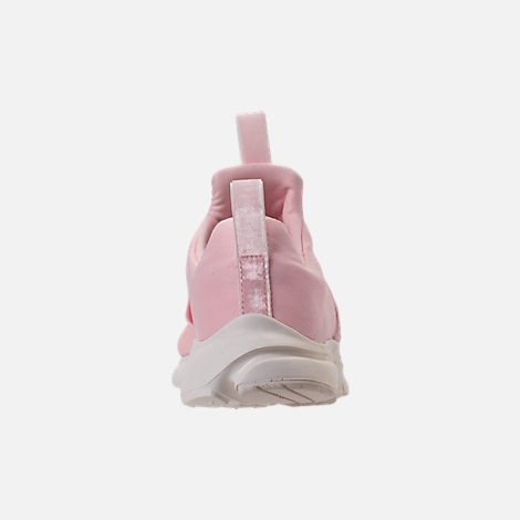 Back view of Girls' Grade School Nike Presto Extreme SE Running Shoes in  Easter/