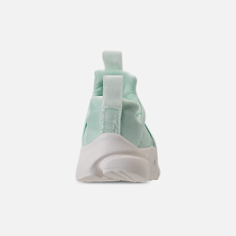 Back view of Girls' Toddler Nike Presto Extreme SE Running Shoes in Igloo/Sail