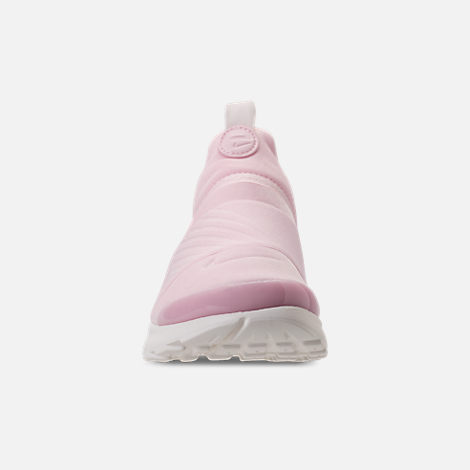 Front view of Girls' Preschool Nike Presto Extreme SE Running Shoes in Arctic Pink/Sail/Igloo