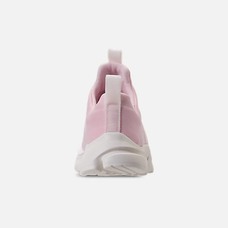 Back view of Girls' Preschool Nike Presto Extreme SE Running Shoes in Arctic Pink/Sail/Igloo