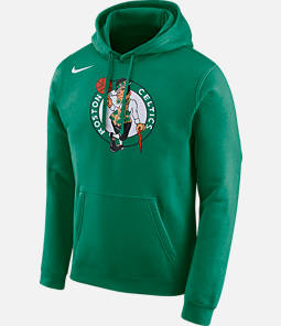 Men's Nike Boston Celtics NBA City Edition Logo Essential Hoodie