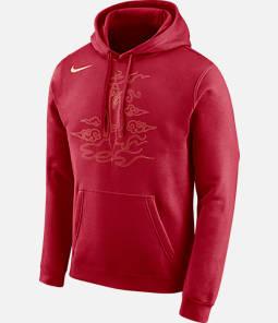 Men's Nike Houston Rockets NBA City Edition Logo Essential Hoodie