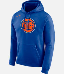 Men's Nike New York Knicks NBA City Edition Logo Essential Hoodie