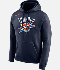Men's Nike Oklahoma City Thunder NBA City Edition Logo Essential Hoodie