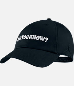 "Unisex Jordan Heritage86 ""Do You Know"" Hat"