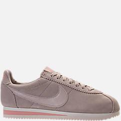 Women's Nike Classic Cortez Suede Casual Shoes