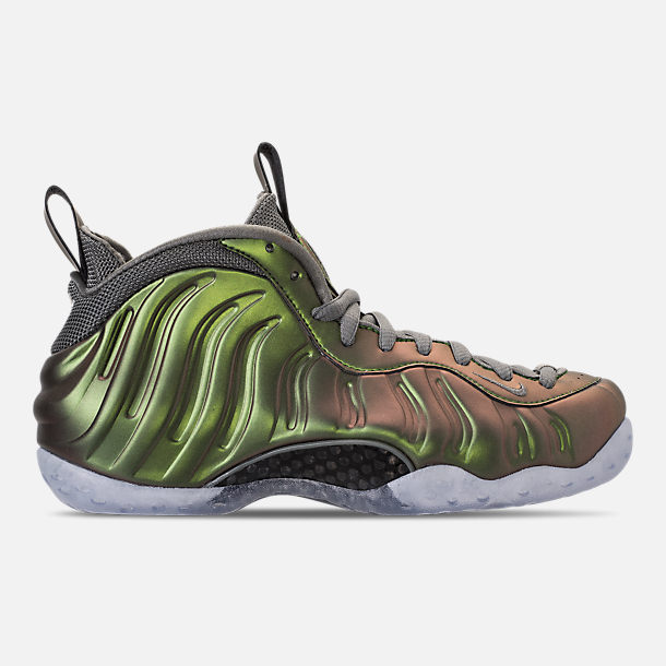 Right view of Women's Nike Air Foamposite 1 Casual Shoes in Dark Stucco/Dark Stucco/Black