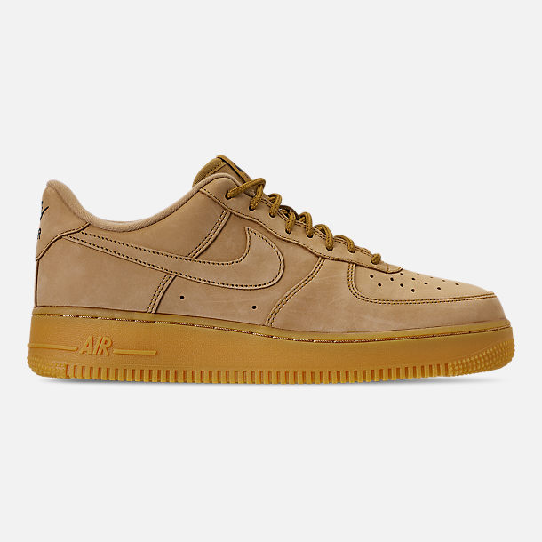 f3d43122e855c0 Right view of Men s Nike Air Force 1  07 Low Wheat Casual Shoes in Flax